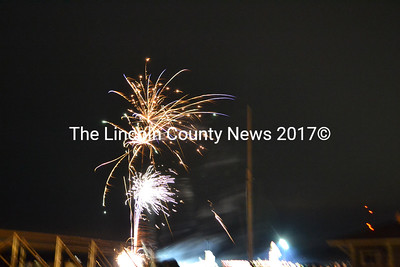 Big Al's Fireworks Outlet provided a fireworks show after the raffle. (D. Lobkowicz photo)