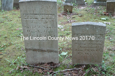 Lydia Ann and Leander were two of David and Nancy Hatch's children who died before their time. Leander and his cousin Caroline Hall drowned in Damariscotta Lake.