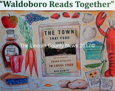 This month, the Waldboro Public Library will host a series of events exploring food's role in a rural economy. (Original drawing by Brynna Skov)