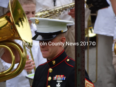 Marine Cpl. Brandon Sodergren has recently returned from military service in Afghanistan. (Shlomit Auciello photo).