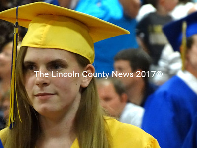 Harley Campbell of Waldoboro is a member of the 2012 graduating class at Medomak Valley High School.(Shlomit Auciello photo)