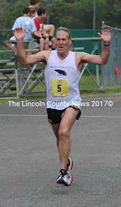 Ronald Haney was the overall winner in the Strawberry Shortcake Shuffle 10K.