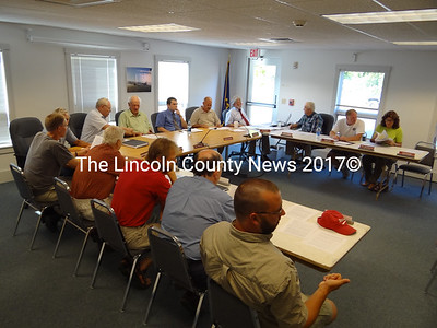 The Waldoboro Board of Selectmen and Budget Committee met July 12 in an unsucessful attempt to reach consensus on a budget proposal that will face voters Sept. 11. (Shlonit Auciello photo)