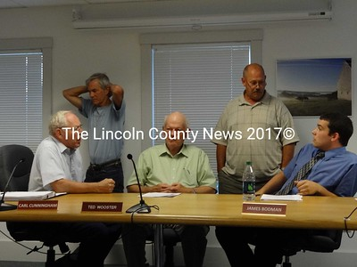 Waldoboro selectmen were unable to gain unanimous approval from the Budget Committee on adjustments to the Fiscal Year 2012 budget that will face voters in a special town meeting referendum, Sept. 11. (Shlomit Auciello photo)