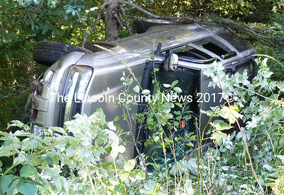 One person suffered non-life threatening injuries in an accident on Rt. 32 in Bristol on Aug. 7, according to Jared Pendleton of the Bristol Fire Dept. (Greg Latimer photo)