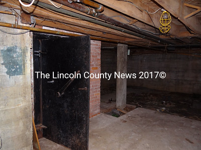 Plans for the lowest level of the former A.D. Gray building,  where the heating system resides, are still being devloped. (Shlomit Auciello photo)