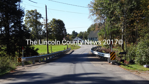 This one-lane bridge is at the north end of Goose Hill Road in Jefferson. (Shlomit Auciello photo)