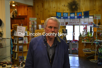 David Stetson has been working full-time at the Wiscasset Old General Store for about 53 years, since his father ran it as Wiscasset Hardware. (D. Lobkowicz photo)
