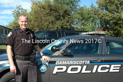 Ryan Chubbuck of Woolwich, a former corrections officer at Two Bridges Regional Jail in Wiscasset, has joined the Damariscotta Police Department as a reserve patrol officer. (J.W. Oliver photo)