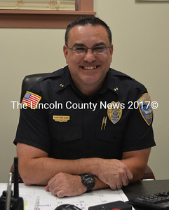 Wiscasset Police Chief Troy Cline (D. Lobkowicz photo)
