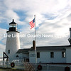 A beautiful day at Pemaquid Point Lighthouse to welcome Santa Claus, Dec. 7. (Eleanor Cade Busby photo)