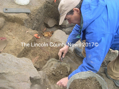 Historic Archaeologis  Dr. Leith Smith (Photo courtesy of Friends of Merrymeeting Bay)