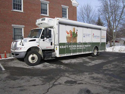 Good Shepherd's Food Mobile will arrive in Newcastle, at the Ecumenical Food Pantry in March. (E. Busby photo)