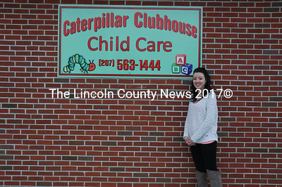 Nobleboro resident Olivia Luksic and her staff offer child care for ages 6 weeks to 10 years at Caterpillar Clubhouse Child Care, now open in Damariscotta. (J.W. Oliver photo)