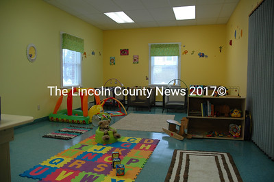 The infants and toddlers area at Caterpillar Clubhouse Child Care features plenty of books, games and toys, as well as a comfortable place for a nap. (J.W. Oliver photo)