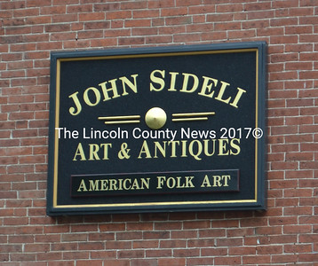 John Sideli Art & Antiques is located at 43 Middle St. in Wiscasset. (D. Lobkowicz photo)
