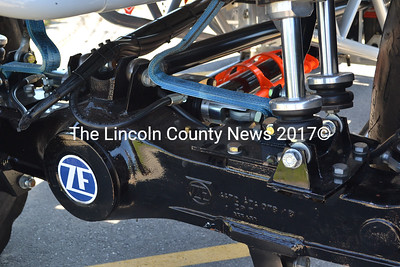 Bigfoot's axles and differentials are manufactured by the international production company ZF and are modified by Bigfoot staff to suit their needs, according to driver Larry Swim. (D. Lobkowicz photo)