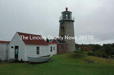 Monhegan Island Lighthouse (J.W. Oliver photo)
