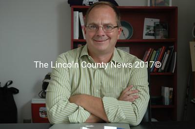 Lincoln Academy Director of Resident Life Ken Stevenson (J.W. Oliver photo)