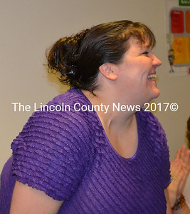 Candie Crocke is Edgecomb Eddy School's new nurse. (Kathy Onorato photo)