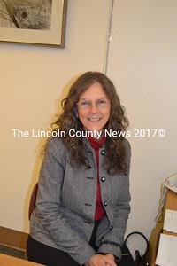 The new employee at the Wiscasset Town Office: Ellin Jasmin, of Bowdoin. (C. Boynton photo)