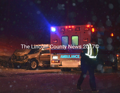 Poor visibility was a factor in an early morning accident Jan. 3 which sent the driver of an SUV to the hospital. (Kathy Onorato photo)