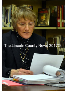 Wiscasset Scool Board member Sharon Nichols plans to resign, effective June 10, two years before her term ends.  (Kathy Onorato, LCN file photo)