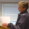 Terry Gifford, owner of Joe's Rubbish Removal and an alternate on the Waldoboro Transfer Station Committee, recommends the town's solid waste and recycling ordinance be scrapped and rewritten. (D. Lobkowicz photo)