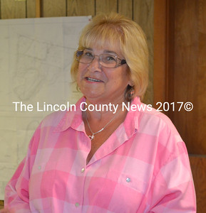 Sherry Tibbetts is expected to accept the job as the recording secretary for the Edgecomb Board of Selectmen. (Kathy Onorato photo)