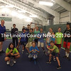 Kids enjoy tennis camp at the Central Lincoln County YMCA.