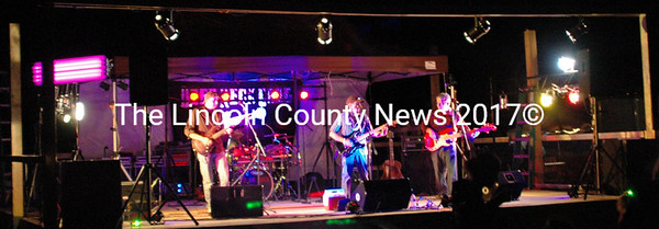 Puddlepalooza headliners Dyer Neck Gang closed the two day show with a blistering set of modern country favorites. (Eleanor Cade Busby photo)