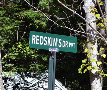 Leaders of the Penobscot Nation have written to the Wiscasset Board of Selectmen urging them to reflect on and overturn an August decision to allow homeowners to name their private road Redskin's Drive. (Kathy Onorato photo)