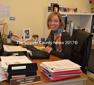 Wiscasset Town Planner Misty Parker will leave her post in Wiscasset Friday, Oct. 3 to take a position as an economic development specialist for the city of Lewiston. (Kathy Onorato photo)