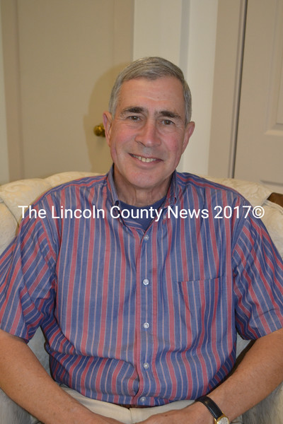 Wiscasset Congregational Church Minister Rev. John Potter will retire from his position with his last sermon at the church as their minister Sunday, Nov. 2. (Charlotte Boynton photo)