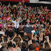 The crowd reacts to Mike Michaud joining President Obama on the stage at The Portland Expo on Oct. 30. (E Busby photo)