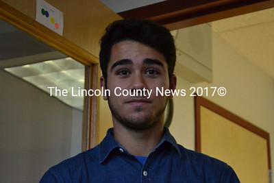 Lincoln Acadmey student Aaron Verdaguer. (Michelle Switzer photo)
