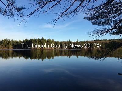 Little Dyer Pond, Jefferson, Saturday, Nov. 8. (J.W. Oliver photo)