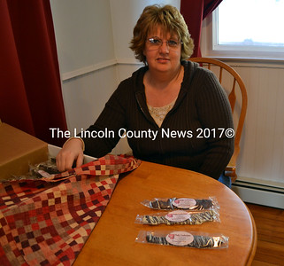 Porky Confections owner Rhonda Dobson said she has been surprised at the early success of her chocolate and bacon combinations. (Kathy Onorato photo)