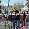 Over 400 walkers participated in the Walk for the Cure on Sunday in Damariscotta. Forty breast cancer survivors, which included women and men, walked with supporters to raise funds for research and treatment. Breast cancer is the most common cancer among American women, except for skin cancer.(Eleanor Cade Busby photo)