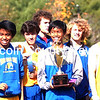Boothbay Region boys cross country team won the MVC championship on Oct. 18 at UMA in Augusta. (Carrie Reynolds photo)