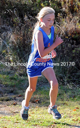 Caitlin Casas was the top runner for GSB, finishing 31st.
