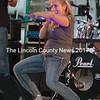 Sharon Hood, lead singer with Dixon Road, brought down the house on Saturday night at Puddlepalooza. (Eleanor Cade Busby photo)