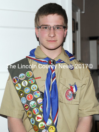 An Eagle Court of Honor was held for Troop 216 Boy Scout John Dmitry Pepper on June 1 at t heFirst Baptist Church in Jefferson. (Paula Roberts   photo)
