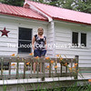 Marcie Abbot stands on the deck of her home in Jefferson where she will operate the new Young Explorers Before & After School Program. (Photo courtesy Marcie Abbot)