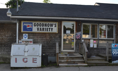 Goodnow's Variety in Waldoboro closed its doors on June 30. (D.Lobkowicz photo)