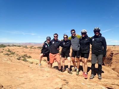 Mountain biking, ASC Staff Retreat, Moab