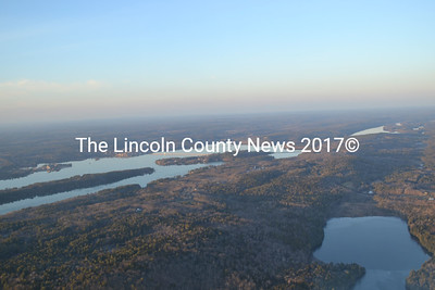 Lincoln County seen from approximately 2,000 feet in The Yellow Peril on Dec. 27. (Abigail Adams photo)