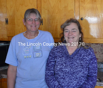 Terry Johnston (left), and Jan Wood stand in Johnston's house in Jefferson Jan. 5. Both are headed to Haiti on a mission trip Jan. 13-27. (Michelle Switzer photo)