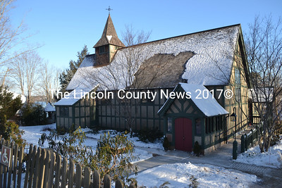 St. Andrew's Episcopal Church in Newcastle, Jan. 8. According to Chairman of the Property Committee and Senior Warden Bob Vaughan, the congregation hopes to start construction projects in the spring.. (Michelle Switzer photo)