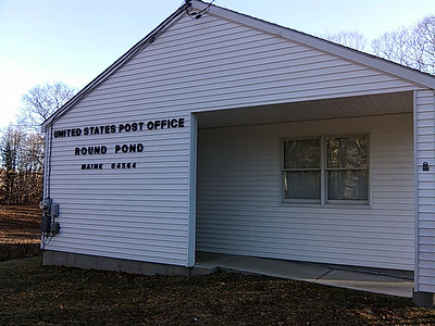 The Round Pond Post Office has already seen changes in personnel as a result of the Postal Service's efforts to eliminate Postmaster Relief workers. (Michelle Switzer photo)